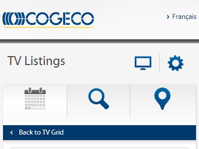 Cogeco responsive web design