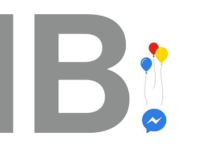 A Lotta Zeros analog research lab arl poster screenprint silver balloons facebook messenger