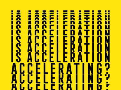 Acceleration graphic design analog lab poster design poster