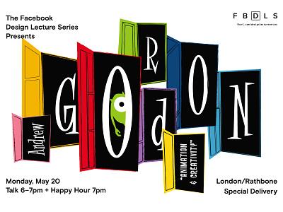 FBDLS – Andrew Gordon pixar events fbdls posters illustration