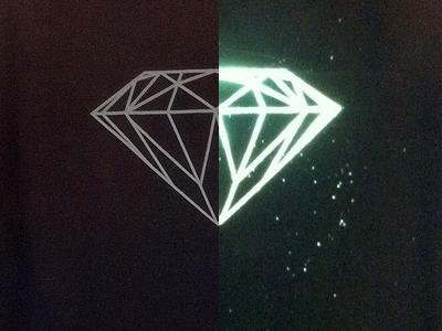 T-Shirt Art shiny tshirt reflective ink
