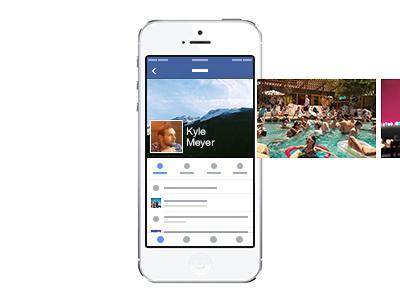 Facebook Mobile Profile facebook ios mobile profile timeline