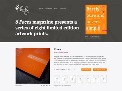 8 Faces Prints Realign 8faces orange magenta sexyprints