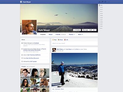 Facebook Timeline facebook profile web