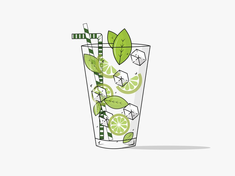 tonic water vector art creative illustration design flat design flatdesign tonic water
