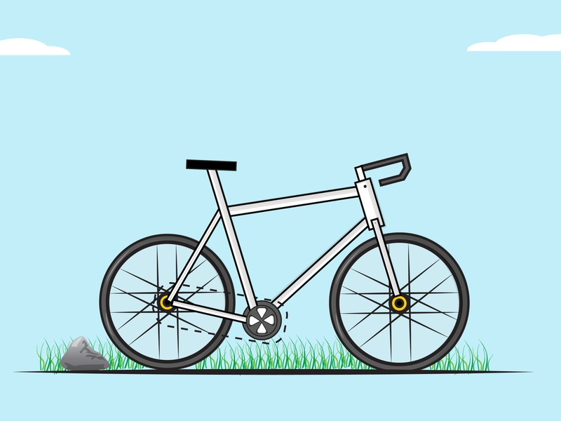 CYCLE vectorart design art vector creative illustration flat design flatdesign cycle