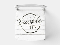 Day 65 - 365 Days Of Lettering - Buckle Up