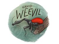 W is for Weevil series illustration sketch nature drawing nature animal illustration animal alphabet animal illustration drawing insect beetle bug giraffe weevil weevil