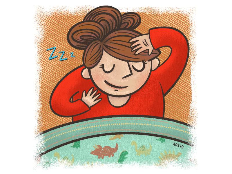 Wake up... sleeping in sleeping sleep sketchbook sketch hand drawing hand drawn illustrator drawing doodle illustration