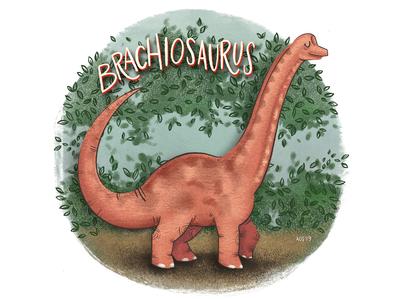 B is for Brachiosaurus