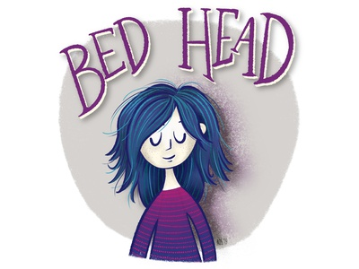 Bead Head - Sketch bed head illustrator hand drawn lettering drawing doodle illustration