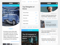 BBC / Davos 2018 - Progressive Web App