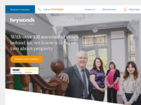 Heywoods Estate Agents - Website Redesign