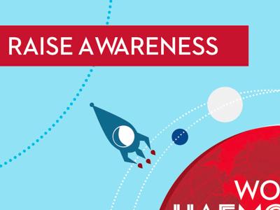 Awareness hemophilia awareness
