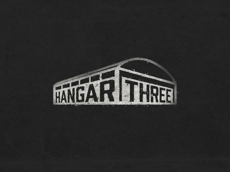 Hangar Three Logo By Dustin Wood On Dribbble