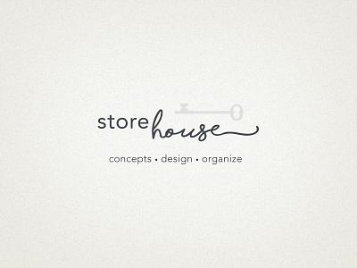 StoreHouse Logo house store type mark identity branding design logo