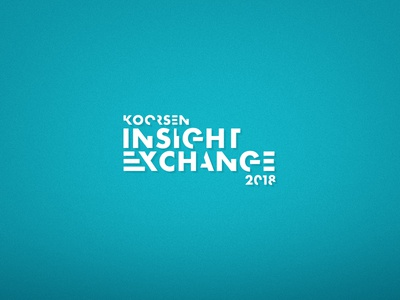 Insight Exchange Conference Logo, Unused