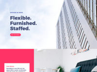 CoWorking - Landing page
