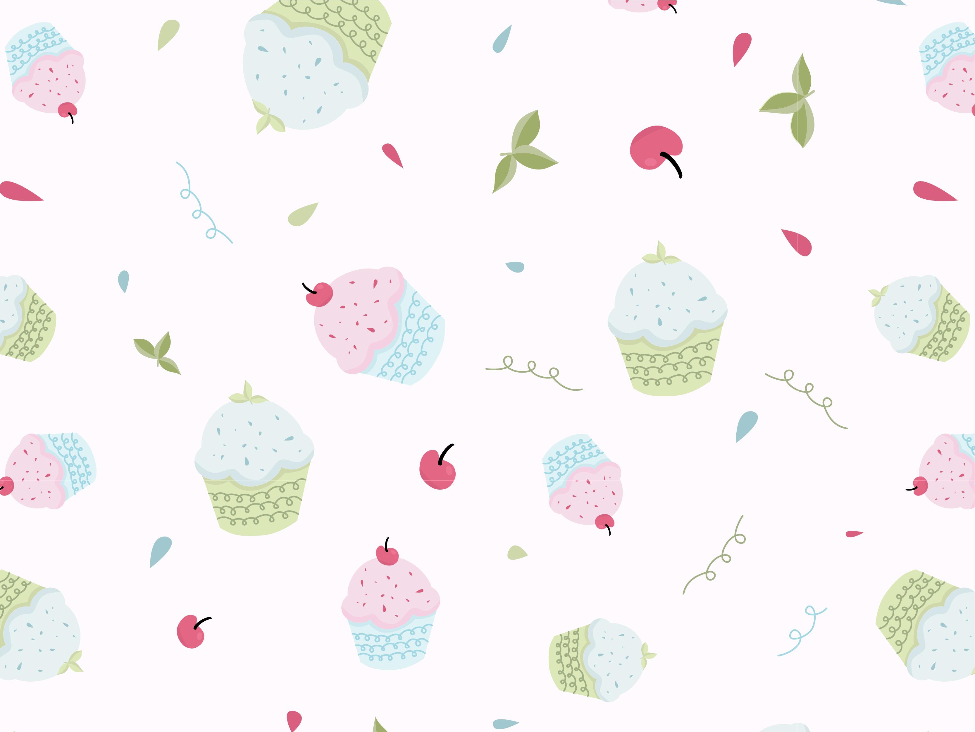 Cupcake pattern drbbbl 02