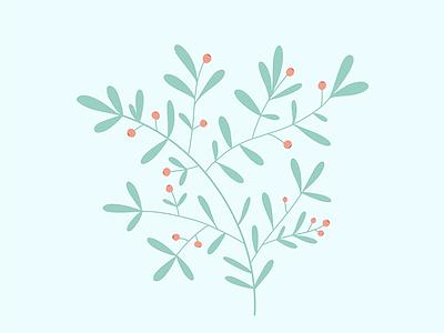 WIP: Foliage & Flower pattern pattern art pattern a day illustration art procreate pattern design illustration foliage pattern