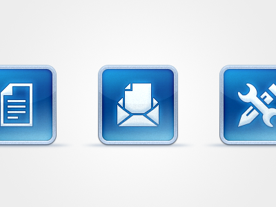 Icons ui interface icons metal ios services cms mail development