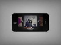 Music iphone ui full