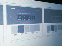 High fidelity wireframes