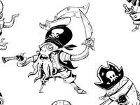 Pirates Fishies Small