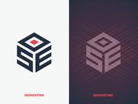 SEOHosting logo seoh seohosting hosting illustration logo identity monogram