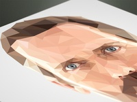 Hugh Laurie Polygon Portrait & How To