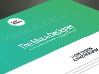 Muse Designer Website
