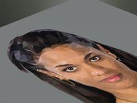 Freema Agyeman Polygon Portrait