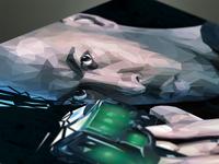 Noel Polygon Portrait