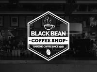 Black Bean Coffee Logo