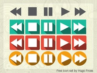 Free player icon set