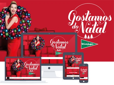 Christmas site - Gostamos do Natal bootstrap ux responsive scrolling fixed header
