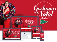 Christmas site - Gostamos do Natal