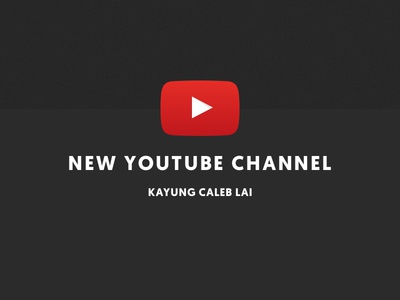Starting a youtube channel! entrepreneur startup freelancing freelancer ux design ui design product design design youtube