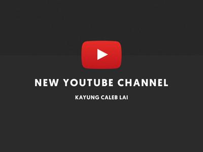 Starting a youtube channel! entrepreneur startup freelancing freelancer ux design ui design product design design youtube