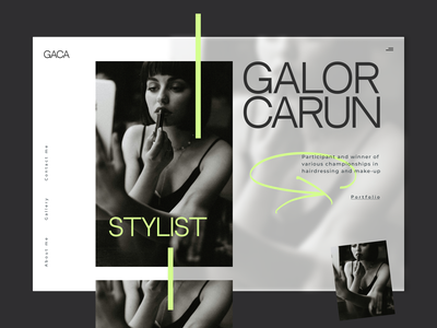 Website for a stylist website design website hair coloring hairdressing underwear womens store young woman naked woman make up artist kiss making up old fashioned fashion show fashion land beasts beauty black beauty brutalism fashion beauty make-up