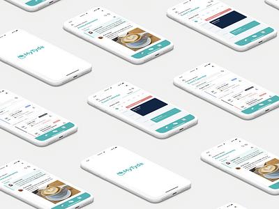 MyTyde mobile app design product design ios app design ios ux branding mobile ui mobile ui design application