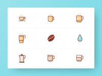 Coffee Icon Collection