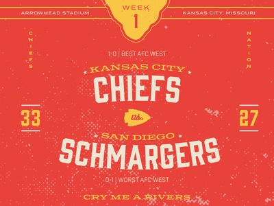 Chiefs vs. Schmargers