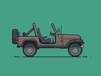 Macgyver's Jeep