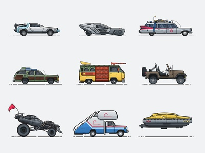 Pop Culture Vehicles
