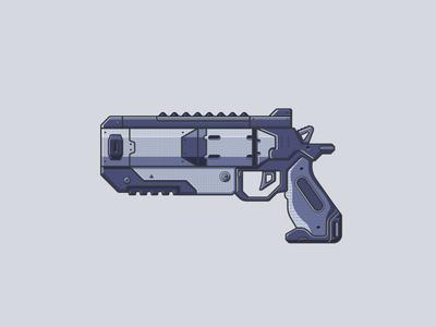Apex Legends Wingman line illustration illustration gun video games weapon wingman apex legends apex