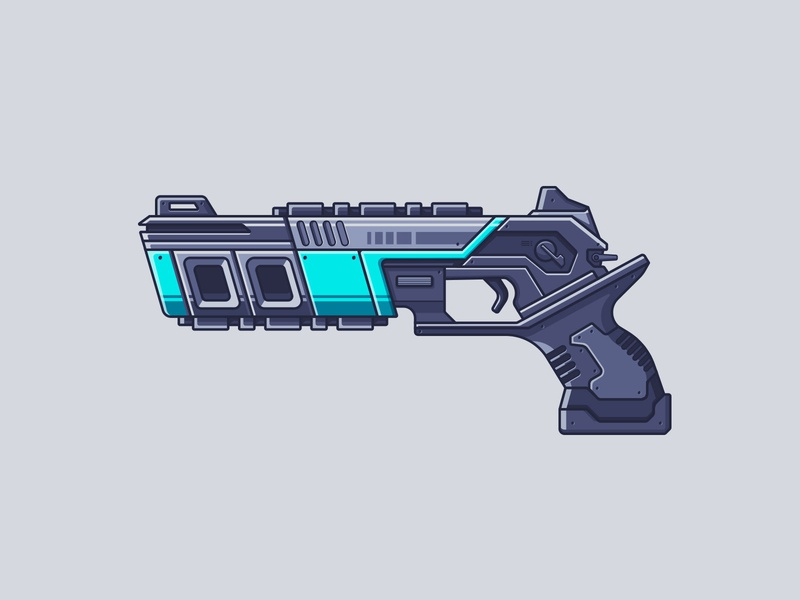 Apex Legends - Mozambique line illustration illustration gun video games weapon worthless shotgun mozambique apex legends apex legends