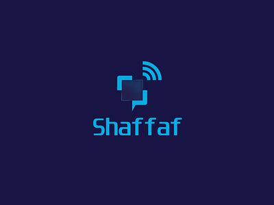 Shaffaf Logo student news network branding logo