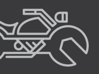 Motorcycle Mechanic Logo