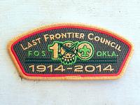 Bsa Lfc Centennial Patch